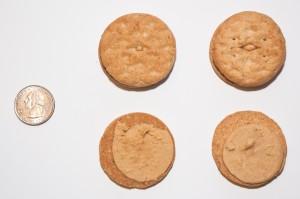 Do-si-dos (LB) vs. Peanut Butter Sandwich (ABC)